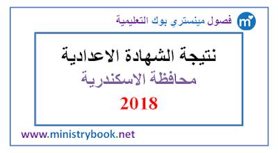 نتيجة الشهادة الاعدادية محافظة الاسكندرية 2018 برقم الجلوس