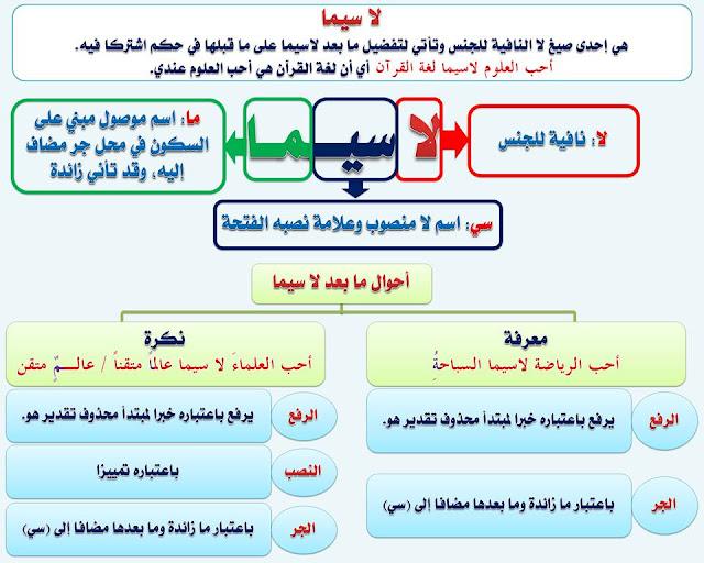 """انفراد.... كل قواعد اللغة العربية لطلاب """"ابتدائي - اعدادي - ثانوي"""" في صورة لوحات مبسطة مع الشرح والتدريبات 69"""