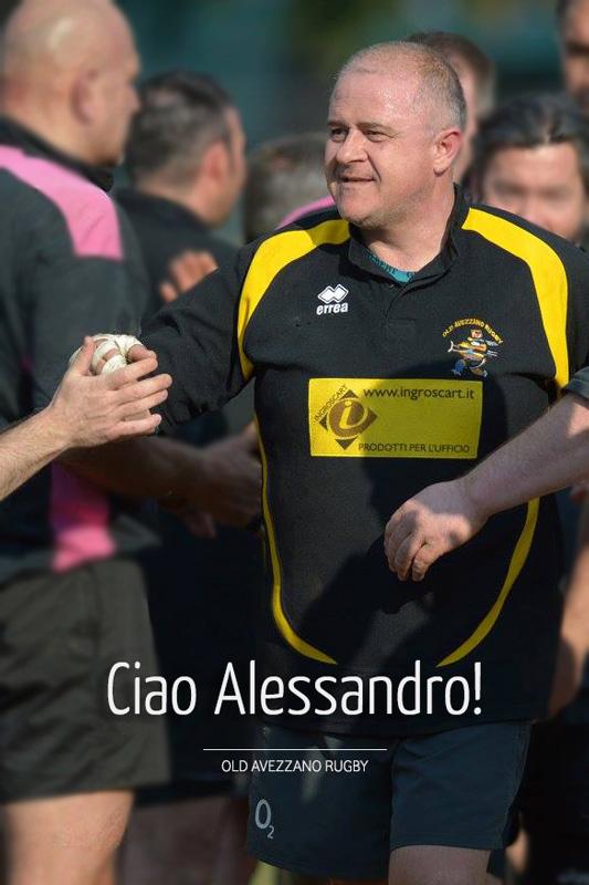 alessandro del gusto - old avezzano rugby