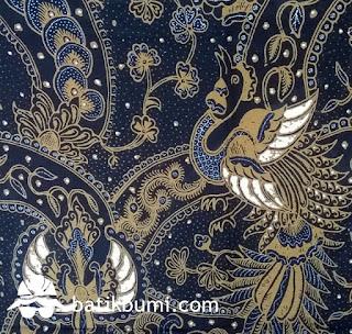 Struktur penyusun motif batik