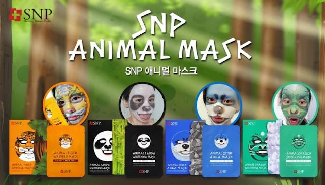 Masque éclaircissant Animal Panda - SNP