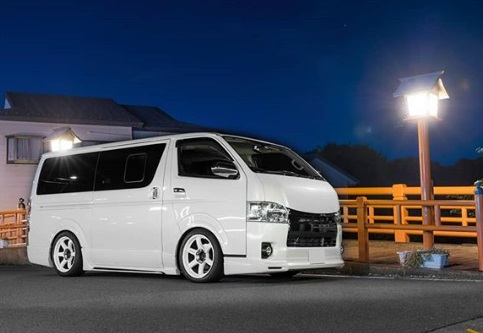 toyota hiace new car used car