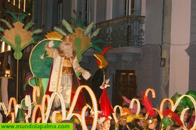 El Ayuntamiento de Santa Cruz de La Palma abre el plazo de inscripción para participar en la Cabalgata de Reyes