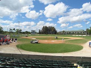 Home to center, Holman Stadium
