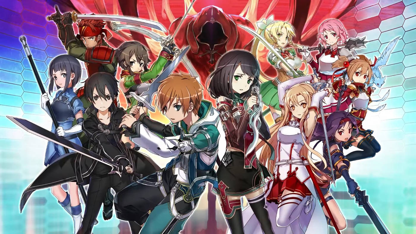 Bohaterowie gry Sword Art Online: Integral Factor