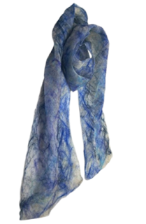 Seventh Anniversary Scarf by Mimi Pinto on Amazon UK