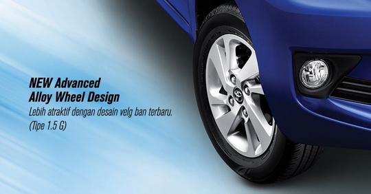 Grand New Veloz 1.3 Matic Ram Radiator Avanza Eksterior Toyota Type E G Dan ...