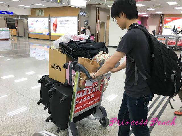 從日本收穫滿滿的回台灣