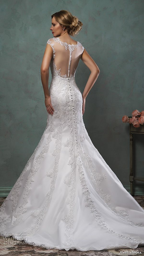 Wedding Dress Back Pinterest 2018 - 2019