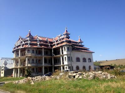 Cygańskie domy w Rumunii