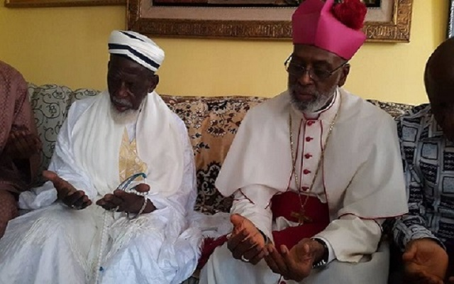 Chief Imam and Archbishop Gabriel Charles Palmer-Buckle