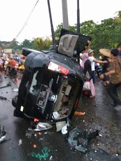 Korban Kecelakaan Beruntun di Puncak Bogor