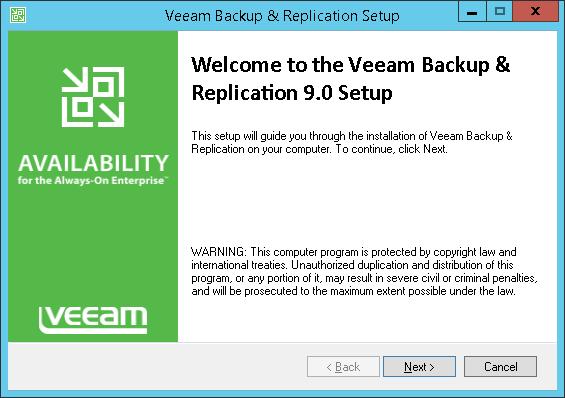 Veeam Backup & Replication 9 0 User Guide for Microsoft