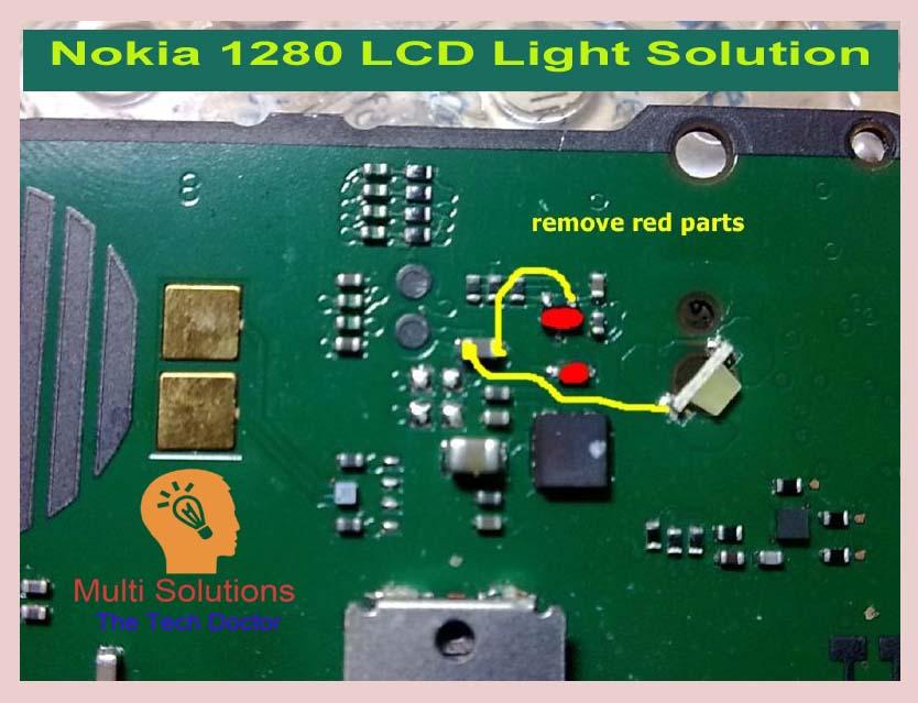 Nokia 1280 Lcd Light Ways Jumpering Solutions