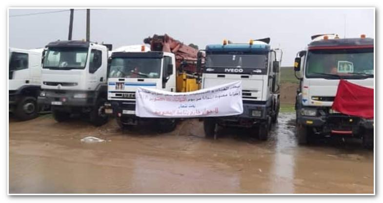 اتفاق أولي بين نقابات النقل والوزارة ينهي أزمة إضراب الشاحنات