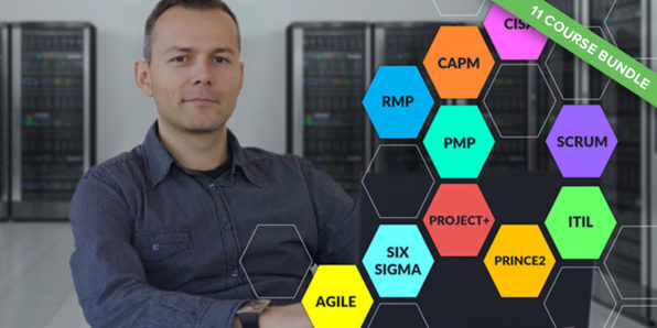 IT Process & Project Management: 11-Course Super Bundle Discount