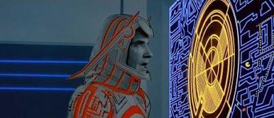 Pac-Man en la película Tron - 1982