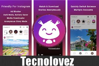 Friendly for Instagram - Applicazione alternativa Instagram per Android senza pubblicità