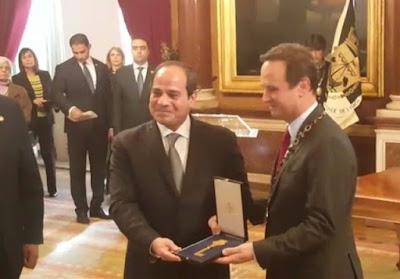 الرئيس-السيسى-يتسلم-مفتاح-مدينة-لشبونة-كالتشر-عربية