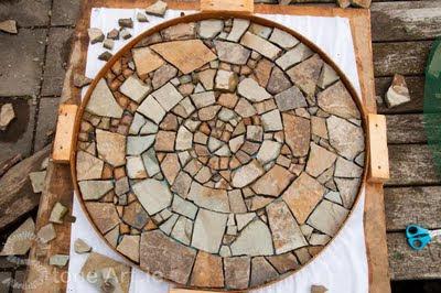 Stone Art Blog Making A Mosaic