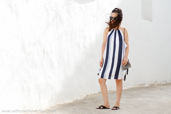 Ideas de blogger española de moda mujer para vestir comoda en verano