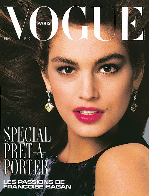 Vogue's Covers: Cindy Crawford