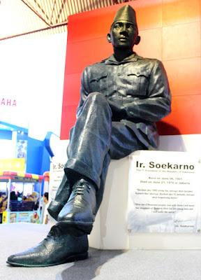 Monumen Insinyur Soekarno di Jakarta Fair Kemayoran