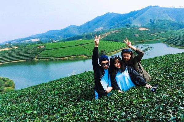 Du lịch Nghệ An tham quan 'đảo chè' bậc thang xứ Nghệ