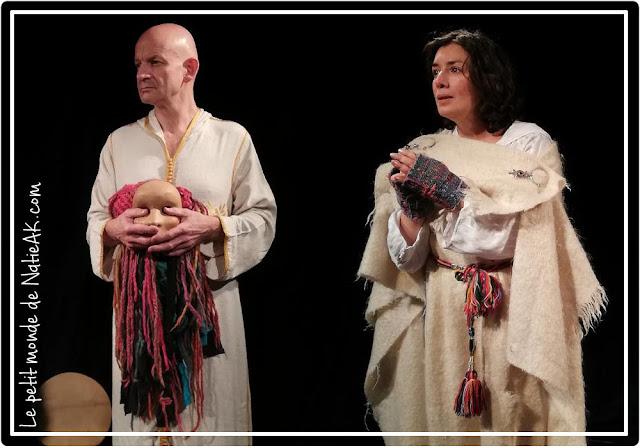 Michel Thouseau et Khadija El Mahdi au théâtre Paris
