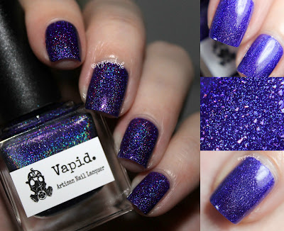 Vapid Lacquer Grape Stomp | XXX Dirty Holos