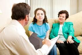 Terapia de familia entre mae e filha