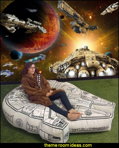 Star Wars Millenium Falcon Bean Bag Cover galaxy wall mural