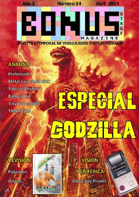 Bonus Stage Magazine #14 Especial Godzilla (14)