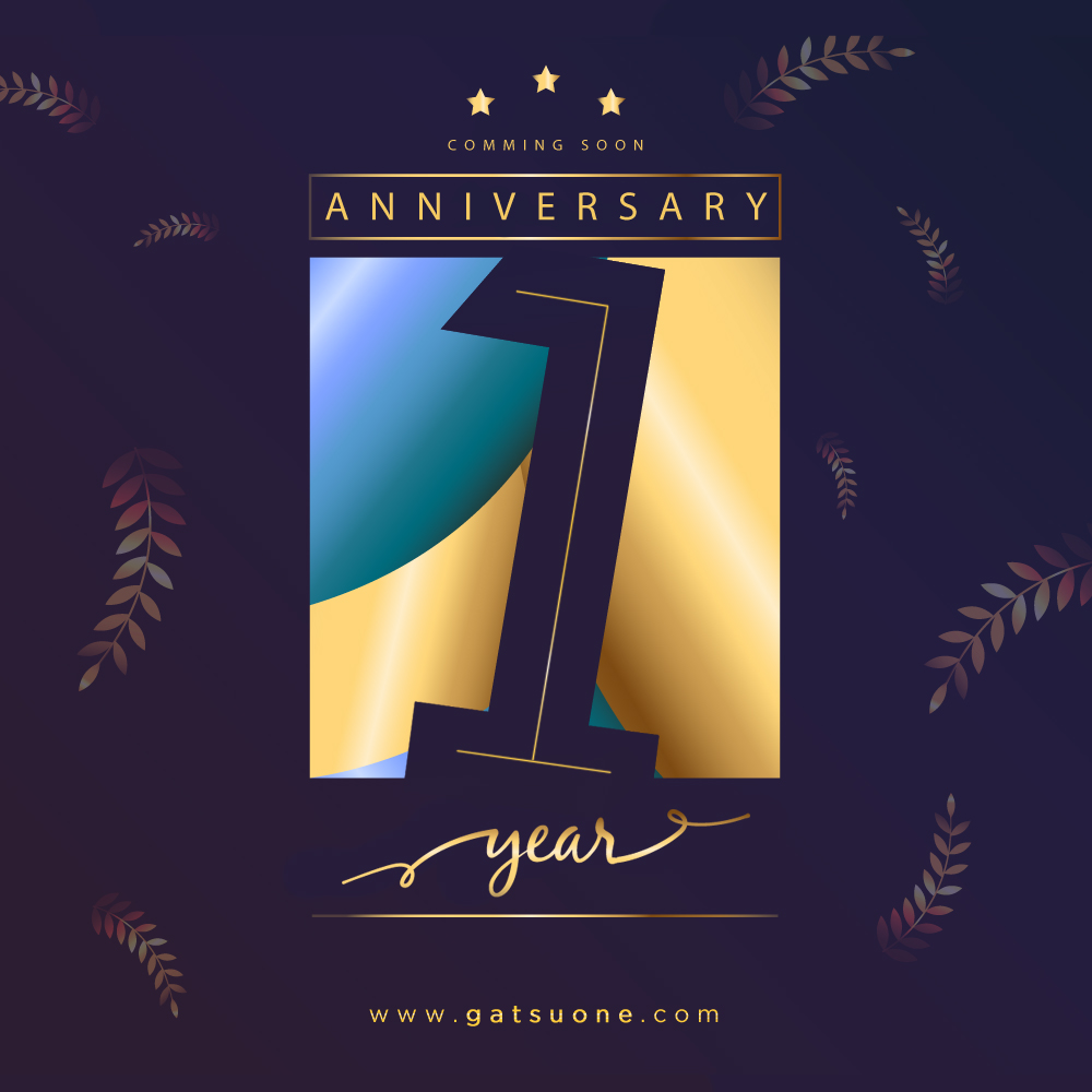 Gatsuone がつおね s st anniversary giveaway