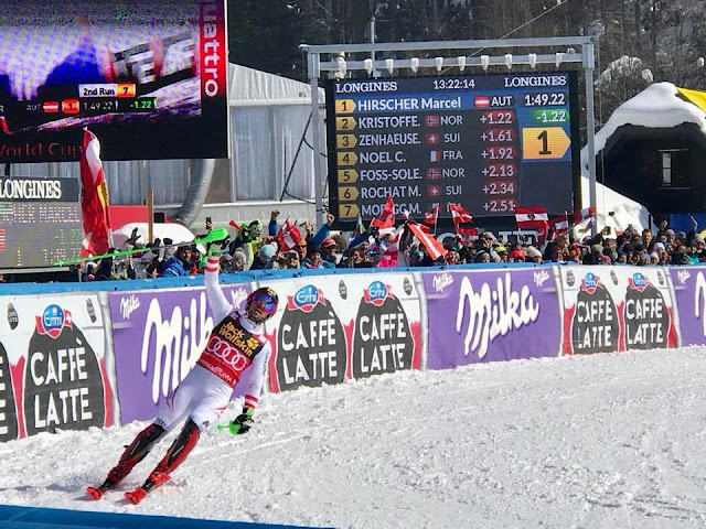 Marcel Hirscher Wins Slalom in Kranjska Gora and takes His 7th Overall Crystal Globe