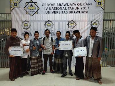 Asy-Syadzili Boyong Juara Gebyar Brawijaya Qurani Tingkat Nasional