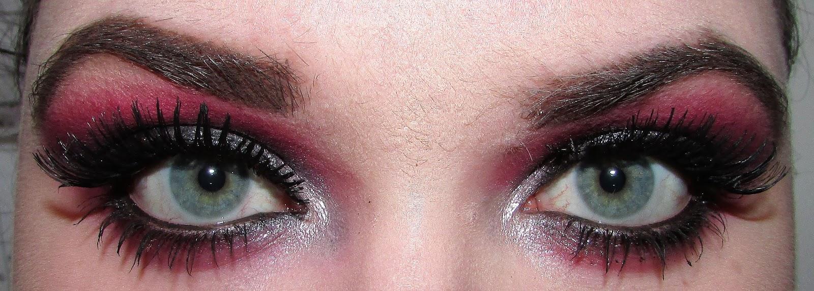 GOŚCINNIE U MNIE: Make-up Dominika - Party look (+ TOP 10 akcesoriów do makijażu)