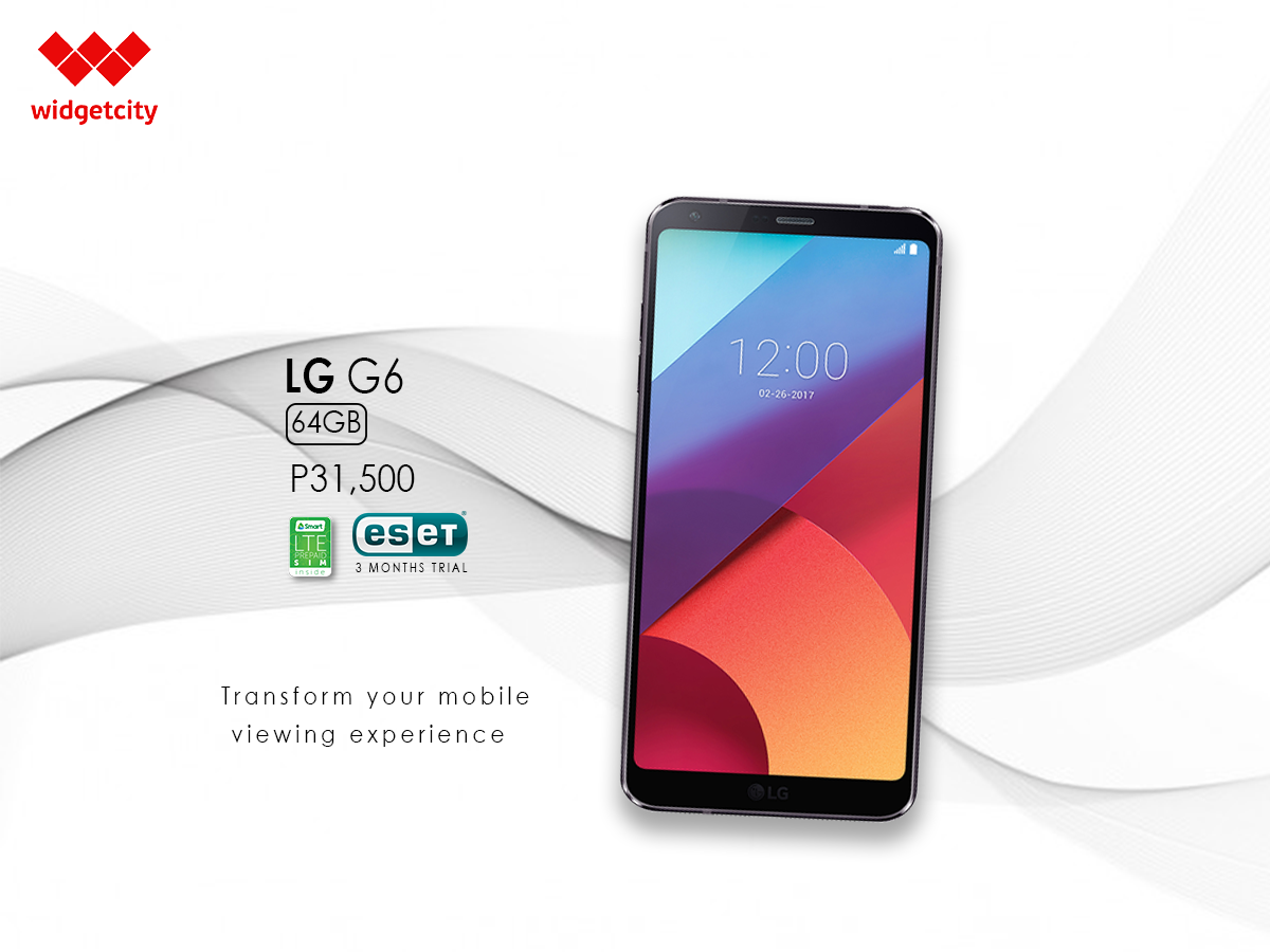 LG G6 at 64GB