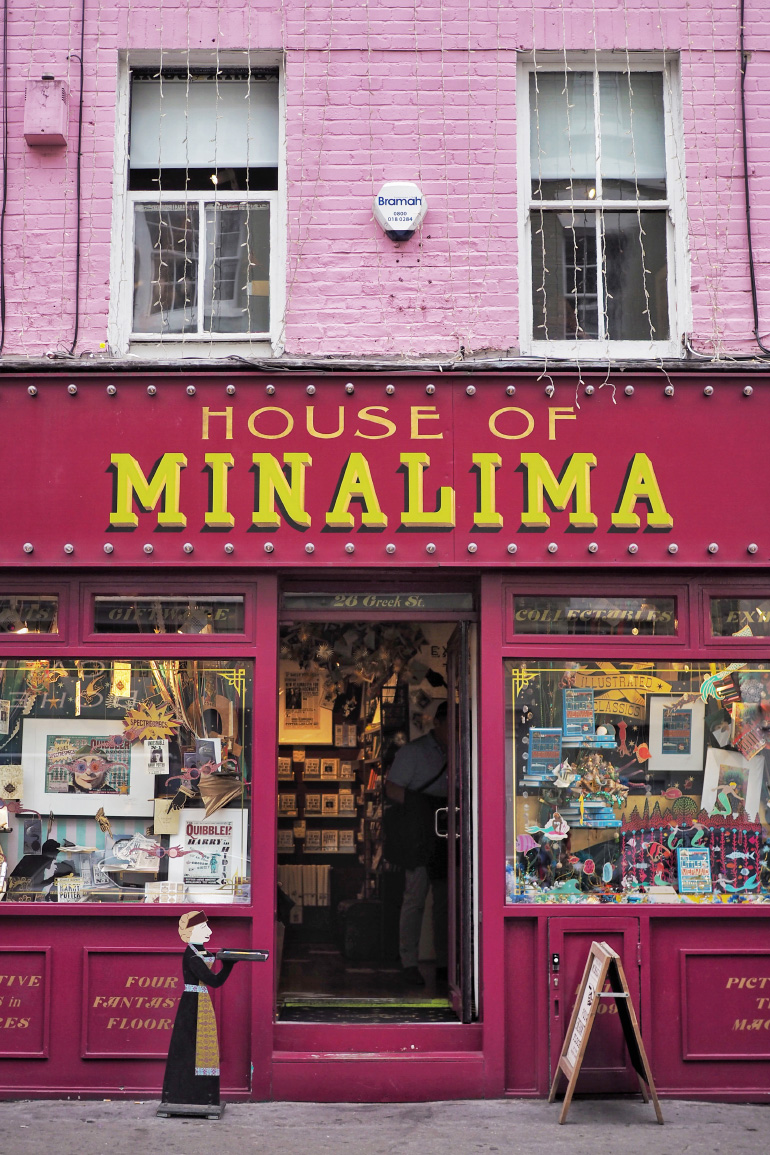 House of MinaLima à Londres