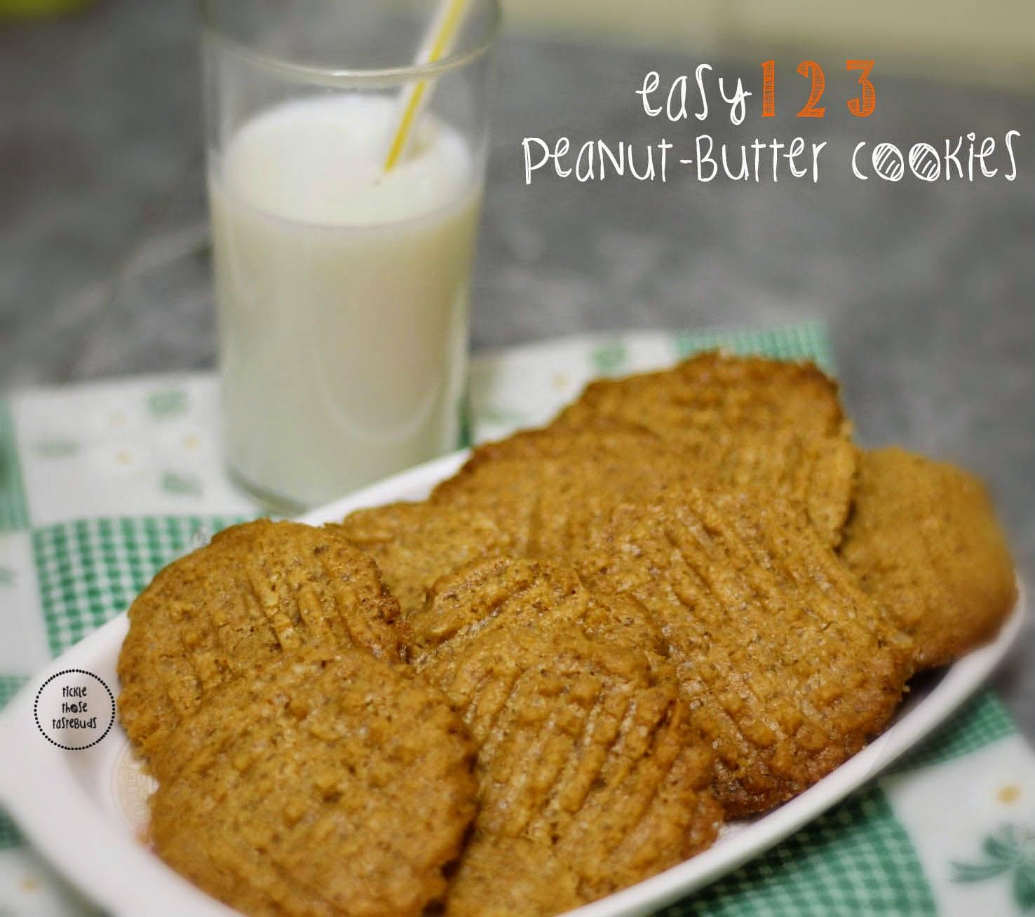 Easy-Peanut-Butter-Cookies-Ticklethosetastebuds