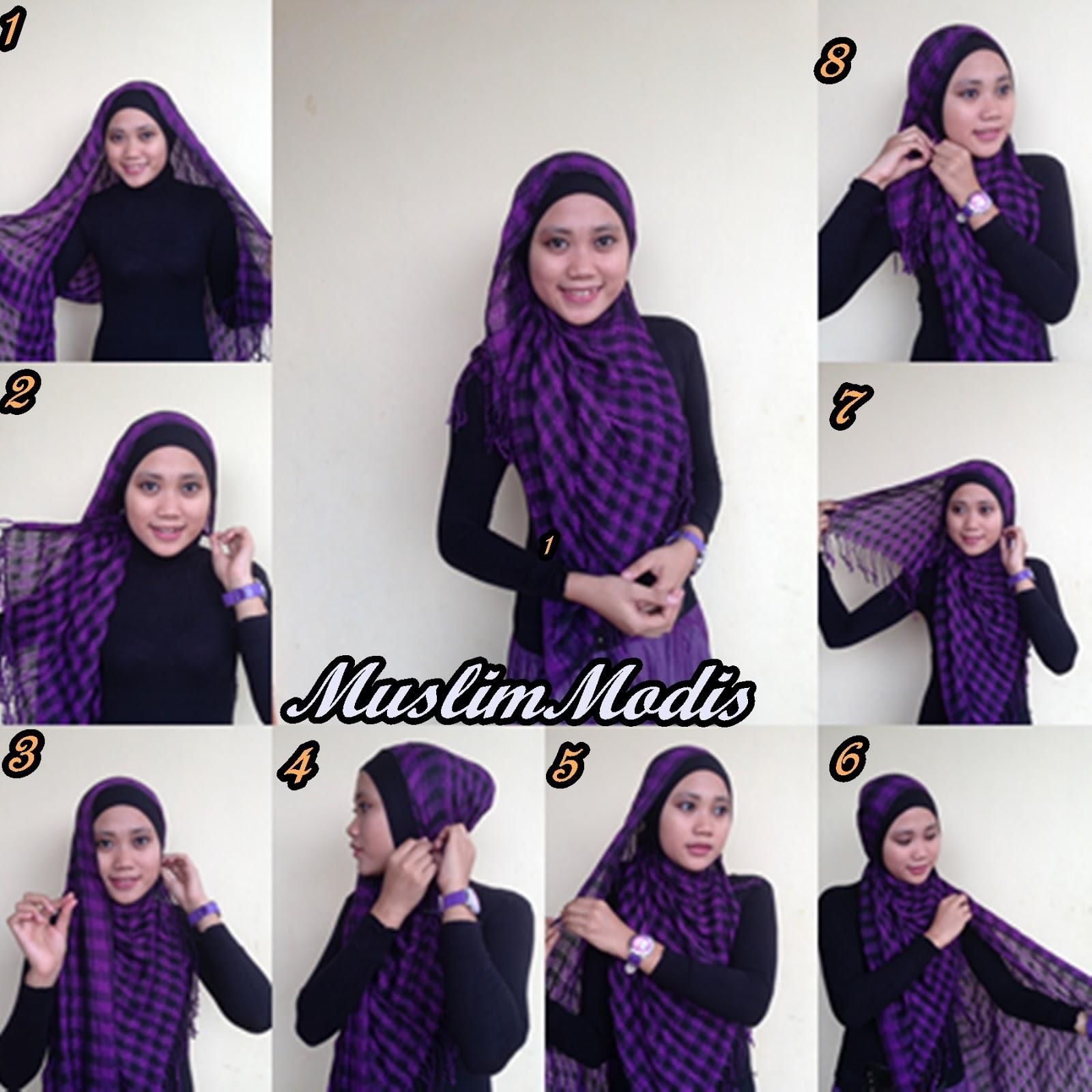 Hijab Pashmina Simple Dan Cantik