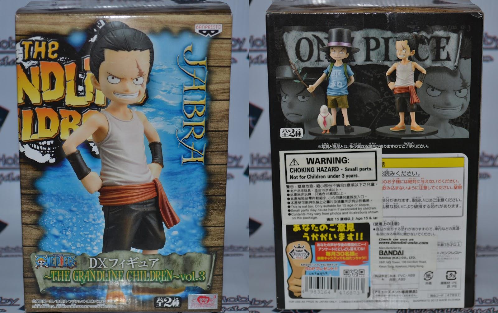 ABCbajet Hobby: Review: Banpresto One Piece DX Figure The