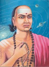 "Vararmihira was born in 499 A.D. in Kerala He studied at Nalanda in Bihar and later was made Head of the university by Gupta ruler, Buddh Gupta. He was the first to deduce that earth is round and that it rotates on its own axis creating day and night. He also declared that moon was dark and shines only because of sun light. The true reason for Solar and Lunar eclipses were also explained by him. Apart from being a great astronomer, he was an excellent mathematician also. He gave the value of ""pi"" as 3.1416 for the first time. He also gave the table of sinew. His method to find a solution to in determinate equations such as ax-by=c is also recognized the world over. He wrote a book Arya Bhattiya dealing with numerous mathematical and astronomical calculations, namely, geometry, mensuration, square root, cube root, progression and celestial sphere."
