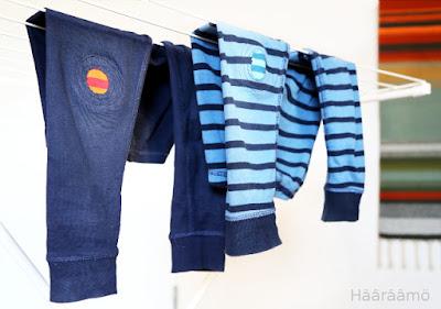 Hääräämö: Pirteät polvipaikat lapsen housuihin