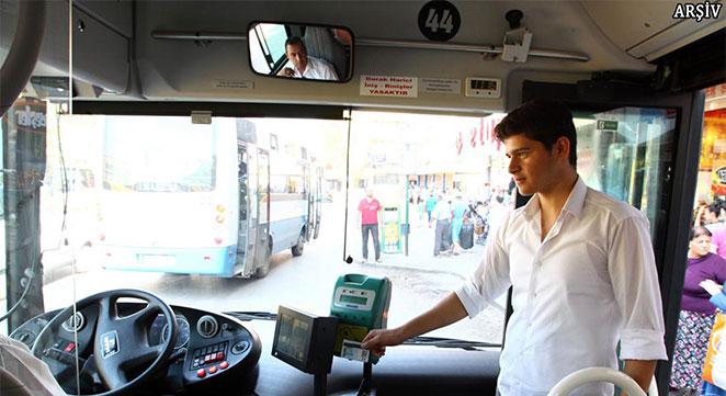 Diyarbakır'da bütün toplu taşıma araçları kartlı sisteme geçiyor