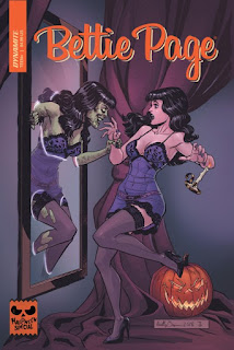 Cover of Bettie Page 2018 Halloween Special #1 from Dynamite