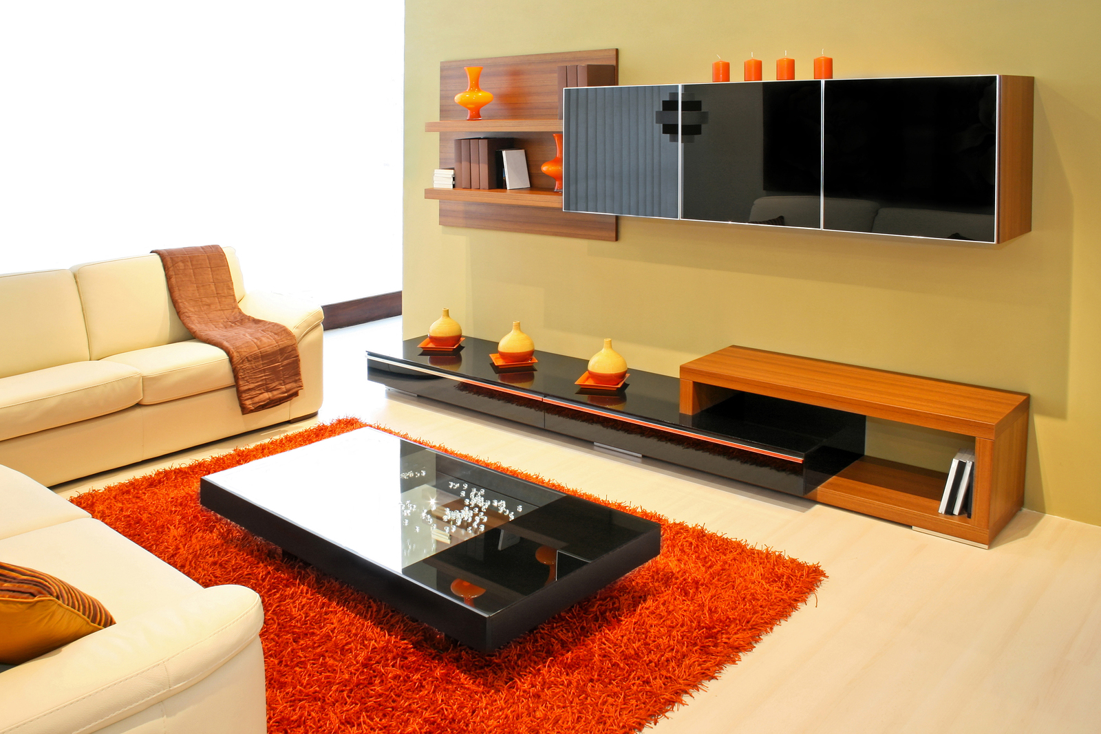 6 ideas para ambientar un living decoguia tu gu a de - Alfombra salon moderno ...