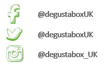 Degustabox social media icons