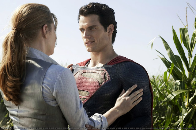 'Man of Steel': The Unique (Fun!) One With Controversy. A review of DC Comics Man of Steel (2013) movie with Henry Cavill. Text © Rissi JC