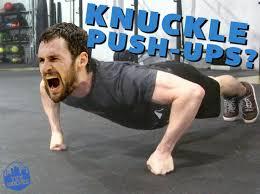 gambar knuckle push up